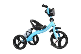 EZ'Playmates Super tricycle with music, led and water bottle - Blue