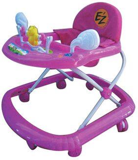 EZ' PLAYMATES BABY WALKER DARK PINK
