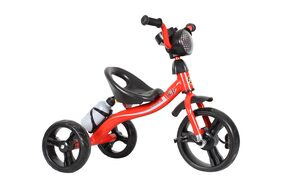 EZ'Playmates Super tricycle with music, led and water bottle - Red
