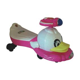 EZ' PLAYMATES  MAGIC CAR DUCK PINK