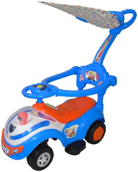 Ez' Playmates Ro303w-blor Non Electric Blue Ride-on car - 2-4 years , Bis certified