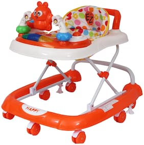 EZ' Playmates Happy baby walker with music - Orange