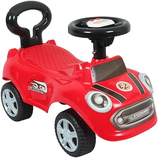 Ez' Playmates Non Electric Red Ride-on car - 2-4 years