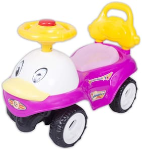 Ez' Playmates Non Electric Pink Ride-on car - 2-4 years , Bis certified