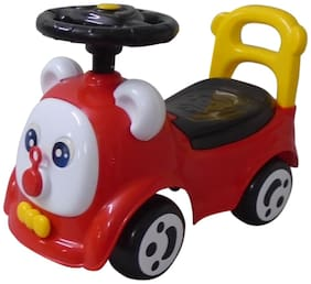 Ez' Playmates Non Electric Red Ride-on car - 2-4 years , Bis certified