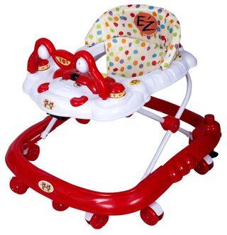 EZ' PLAYMATES BABY WALKER RED