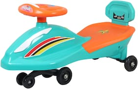 Ez' Playmates Non Electric Green Ride-on car - 2-4 years