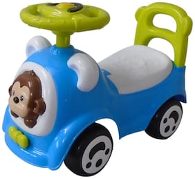 Ez' Playmates Ro301m-blgr Non Electric Blue Ride-on car - 2-4 years , Bis certified