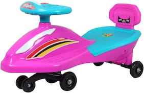 Ez' Playmates Non Electric Pink Ride-on car - 2-4 years