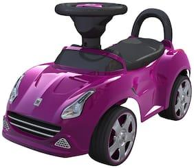 EZ' PLAYMATES  BABY RIDE ON SEDAN CAR PURPLE
