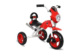 EZ' Playmates cruiser bike style tricycle for kids - Red