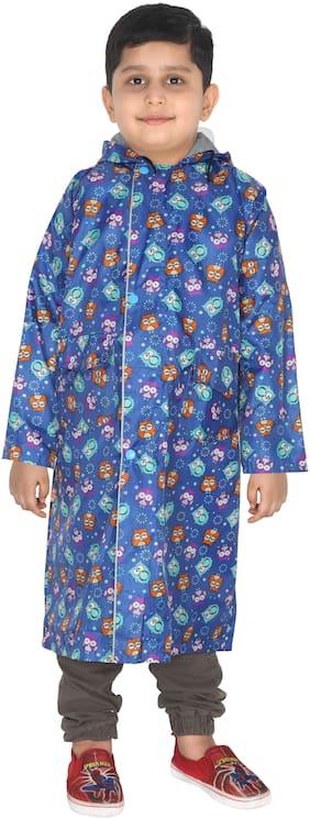 Fabseasons Boy Polyester Rainwear - Blue