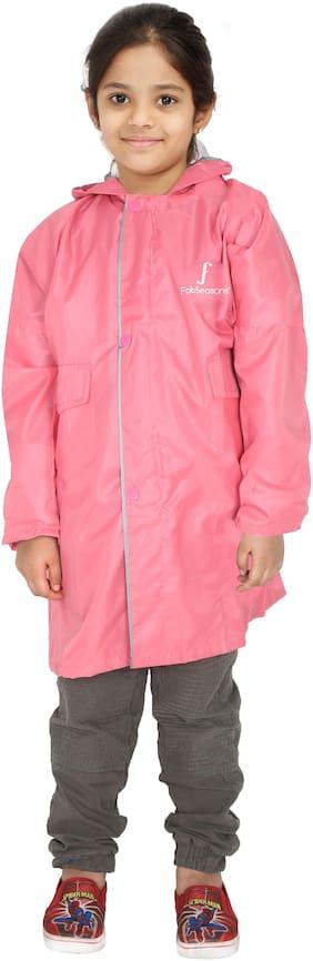 Fabseasons Boy Polyester Rainwear - Pink