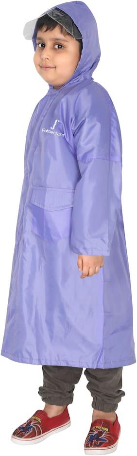 Fabseasons Boy Polyester Rainwear - Purple