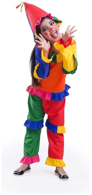 Buy Fancydresswale Joker Fancy Dress 3-4 Years Online at Low Prices ... d2ec06825
