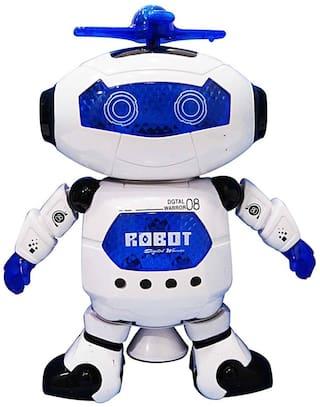 Fantasy India Multicolor Naughty Dancing Robot