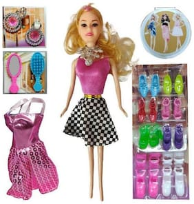 Fashion Doll Pretty Girl With Accessories