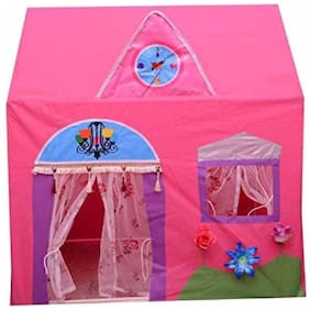 FASTDEAL JUMBO SIZE QUEEN HOUSE TENT FOR KIDS [PINK]