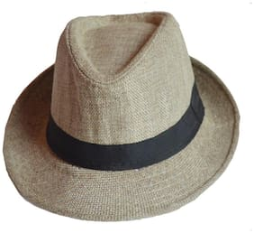 Faynci Premier Fedora stylish Flex Linen Hat for Boys and Girls