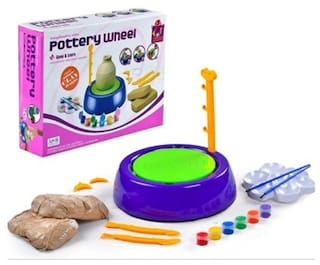 Fiable Pottery wheel & Clay set for Kids