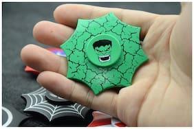 Fidget Hand Spinner Hulk Fingertip Gyro Desk Toys EDC Autism Kids Adults Green