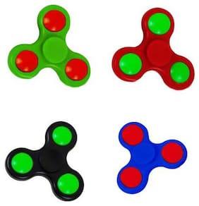 Fidget Hand Spinner set of 4