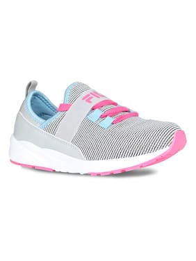 Fila Grey Casual Shoes For Infants