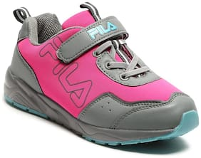 Fila Pink Unisex Kids Casual shoes