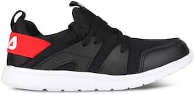 Fila Black Canvas shoes for boys