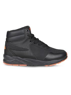 Fila Black Casual Shoes For Infants