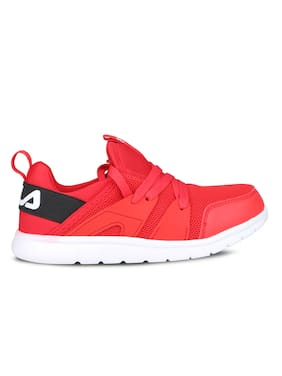 Fila Red Casual Shoes For Infants