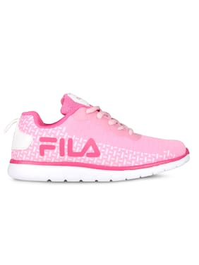Fila Pink Casual Shoes For Infants