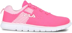 Fila Pink Canvas shoes for boys