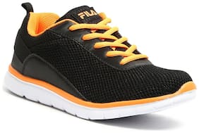 Fila Black Casual Shoes For Infants