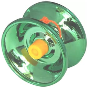 Finish Die Cast Metal Toy Yoyo (Green)
