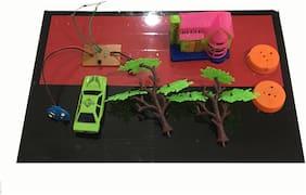 Fire Alarm Working  School Science Exhibition Model , DIY Kit