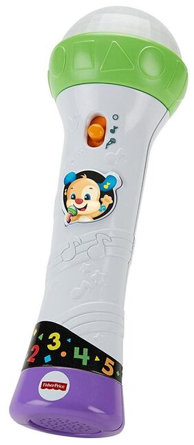 Fisher Price Laugh and Learn Rock and Record Microphone;Multi Color