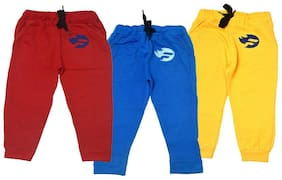 Flash Fashion Boy Cotton Track pants - Multi