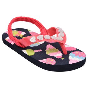 Flipside Kids Diamonds Pink Slippers
