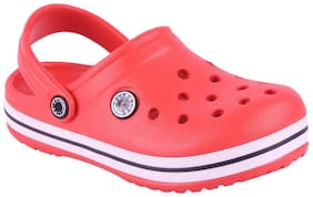 FLIPSIDE Kids Red Clog