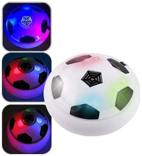 Floating Disc With Lighting Effects Football (1Pc) Assorted Color