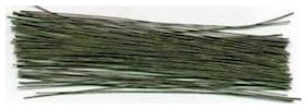 Flower Making Hard Wire Green Tape Coated 12  Length , Set Of 50 Wires