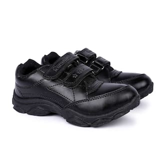 Buy Fluid Black School Shoes for boys Online at Low Prices in India ... 63a42e46f92