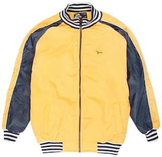 Flying Machine Boy Polyester Solid Sweater - Yellow
