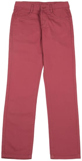 Flying Machine Boy's Slim fit Jeans - Red