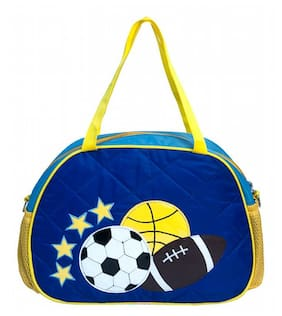 Football Quilted KIds Day Bag