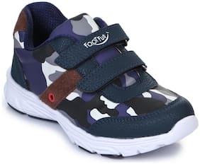 Footfun By Liberty N.Blue Boys Sport Shoes