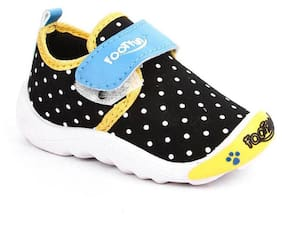 Liberty Black Casual Shoes For Infants