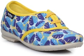 Liberty Blue Girls Casual Shoes