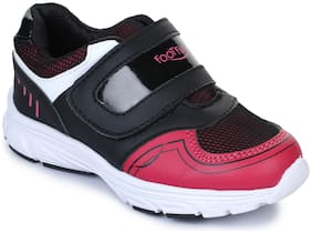 Liberty Black Sport shoes for boys